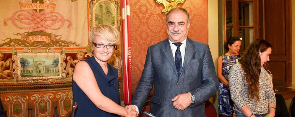 Primo consiglio con Landriscina  Eletta presidente Anna Veronelli