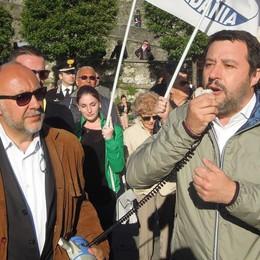 Salvini: «Trappola su Arosio  Cantù merita di averlo sindaco»