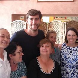 Un'altra star conquistata dal nostro lago  Soler a Tremezzo: «Che meraviglia»