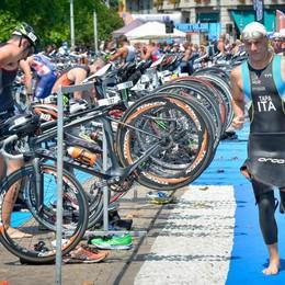 Il Triathlon di Cernobbio In trionfo Mosso e Gatti