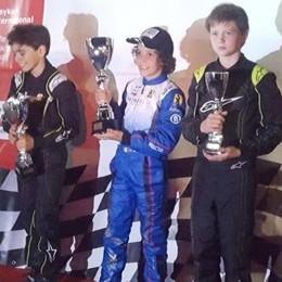 Butti junior sulle orme di papà «Ho iniziato con il kart di Kubica»