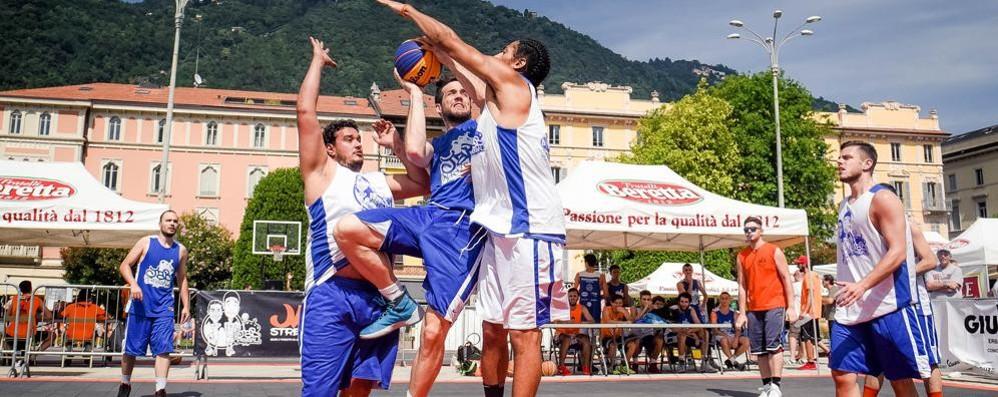 Quattro squadre comasche  allo Streetball di Riccione