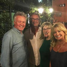 Goldie Hawn e Kurt Russell  A Bellagio c'è Hollywood
