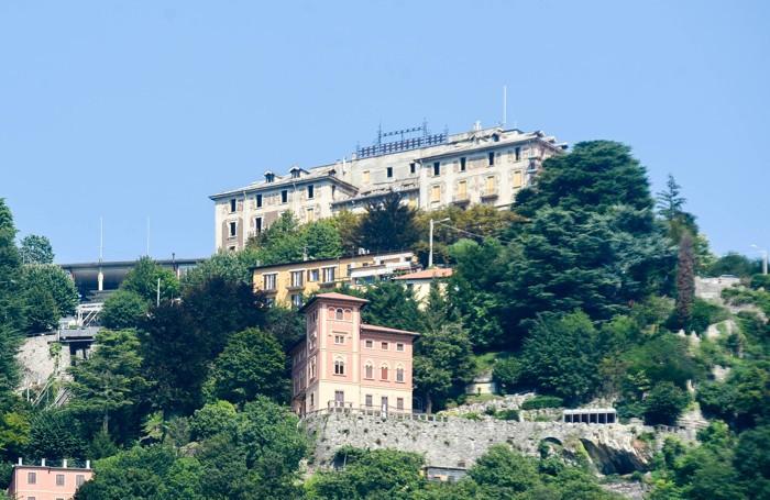 Brunate ripartito il 26 luglio il cantiere per il restauro dell'Hotel Milano