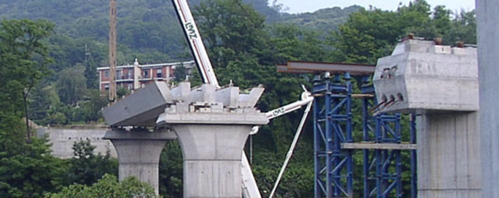 Como, Viadotto, 6 milioni e non è finita  «Gravi anomalie, è preoccupante»