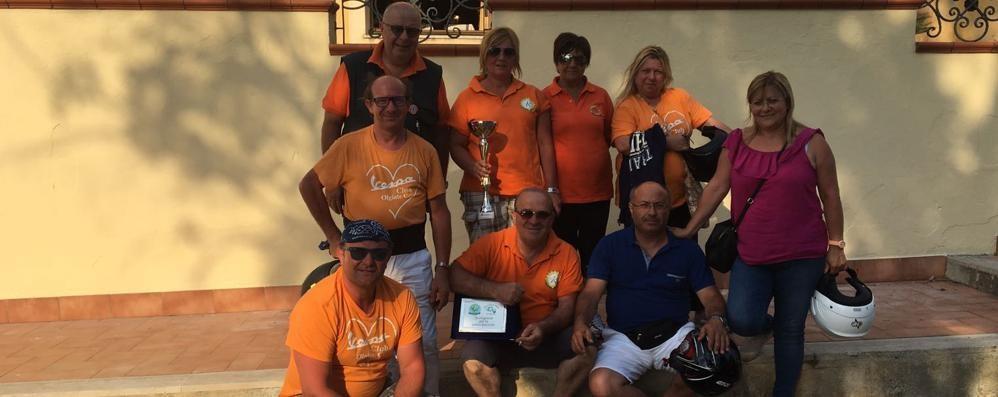 Il Vespa club vince ancora  Primo posto in Calabria