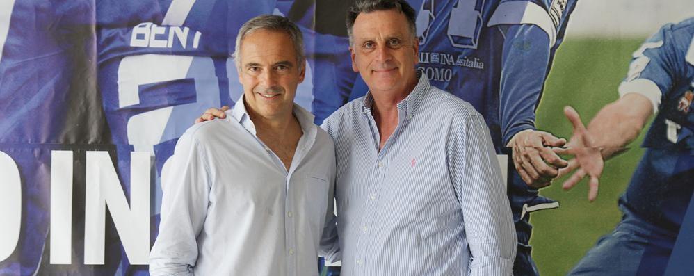 L'allenatore Andreucci si presenta  «Como? Stimoli giusti per risalire»