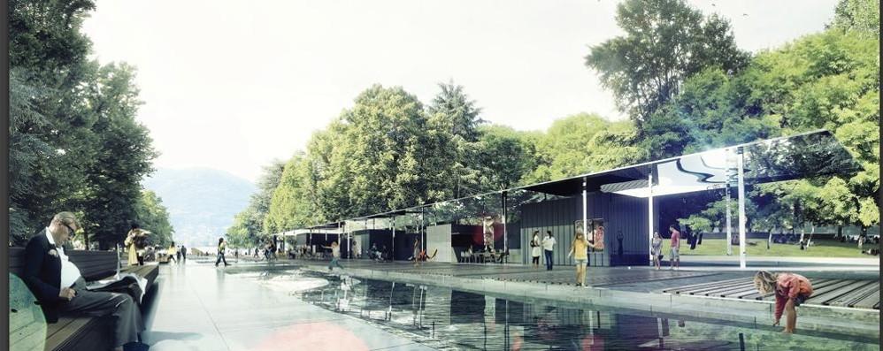 Giardini a lago, primo ok dal Comune  «Spazio da vivere con sport e relax»