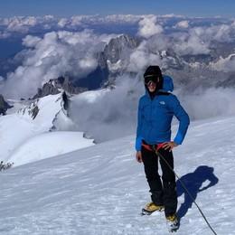 Alessandro, 16 anni  E ha già scalato il Monte Bianco