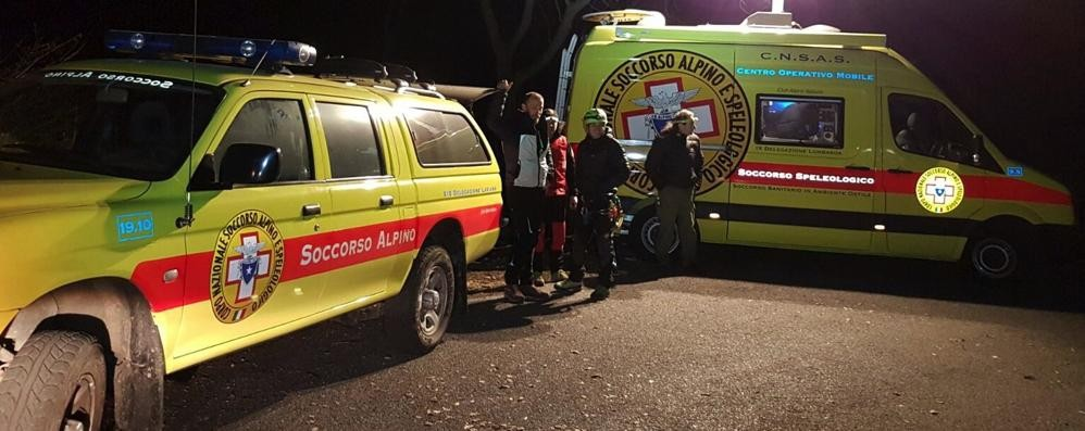 Si perdono di notte in Valmasino  In salvo escursionisti di Cabiate