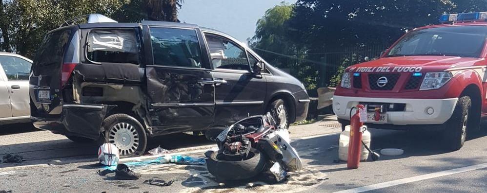 Incidente Mortale In Moto La Vittima 232 Di Bellano