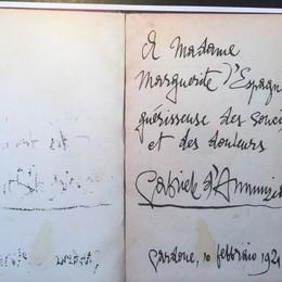 «False le lettere attribuite a D'Annunzio»  Quattro anni agli ex librai di Albavilla