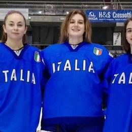 Nazionale di hockey  Tre comasche a Lugano