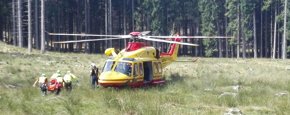 Tremezzina,  malore nei boschi  Pensionato muore a 76 anni