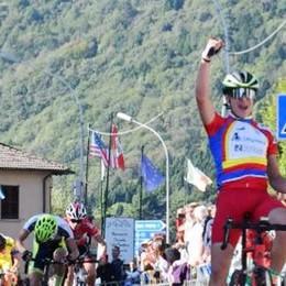 Giornata della bicicletta  Al Ghisallo trionfa Bagioli