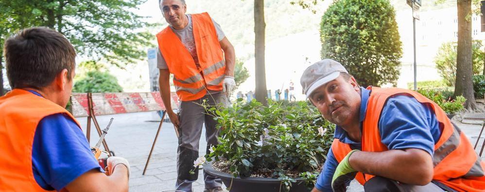 Como, dopo gli attentati in Europa Più sicurezza con fioriere e panchine