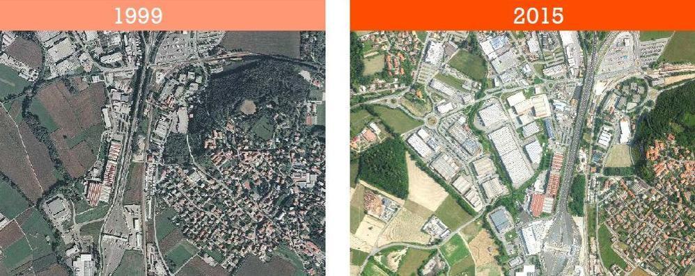 La classifica del cemento nel Comasco  «Grandate, boom negli ultimi 16 anni»
