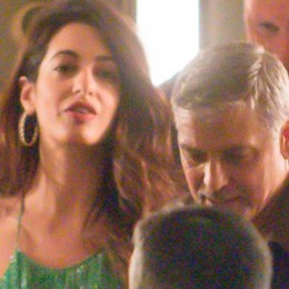 Laglio: George e Amal  hanno accolto profugo iracheno