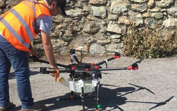 «Insonni per colpa   dei droni svizzeri»