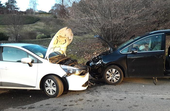 Le altre due auto coinvolte nell'incidente