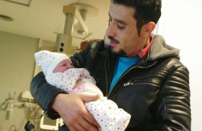 Kumsal Aydemil con il papà