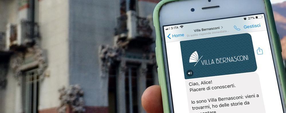 La sfida 2.0 di Villa Bernasconi  Arriva la app che parla ai turisti