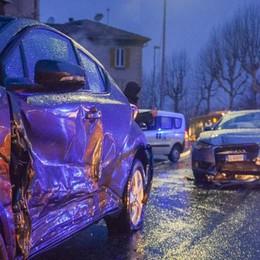 Incidente in via Napoleona  Traffico bloccato, città nel caos