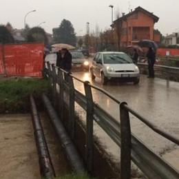 Mariano contro le alluvioni  Verrà rialzato il ponte in via Luini