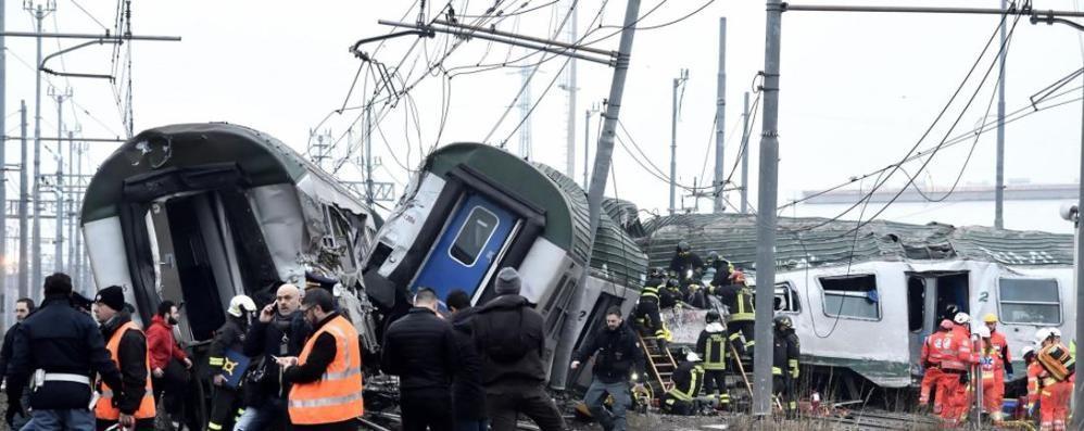 Treno deragliato: più sicurezza   L'allarme dei pendolari comaschi