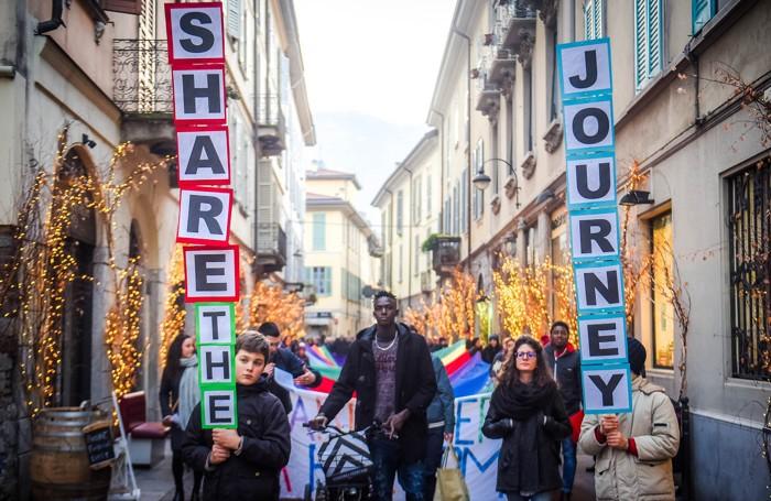Como marcia per la pace di Como