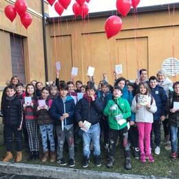Lanciato a Natale a Dongo  Il palloncino è finito in Austria