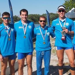 Comaschi, cinque medaglie ai Campionati del Mare