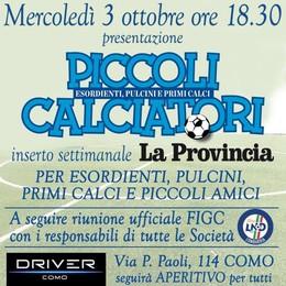 """Nasce """"Piccoli Calciatori"""" Con La Provincia si sogna"""