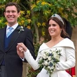 Le nozze della duchessa di York  Gentili Mosconi veste la sposa