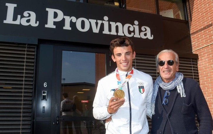 Castelnovo, un oro in redazione «E ora l'Olimpiade dei grandi»