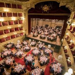 Galà Fondazione Veronesi  «Como la più generosa»