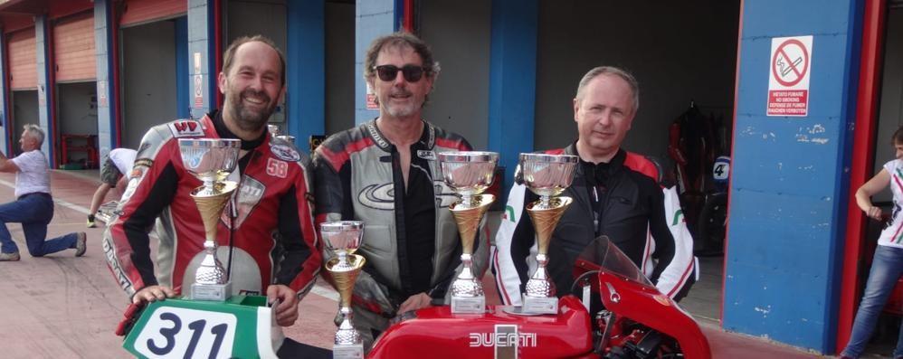 Titolo italiano Endurance  per il Moto Club Canzo