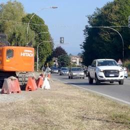 Como-Lecco, via un altro semaforo  Seimila veicoli cambiano strada
