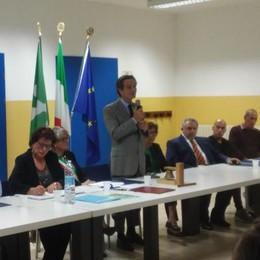 Carlazzo, Fontana ricorda Bonardi  La sala civica dedicata all'ex sindaco