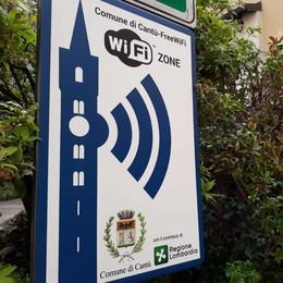 Cantù fa un passo nel futuro  Wi-Fi gratis e senza limiti in centro