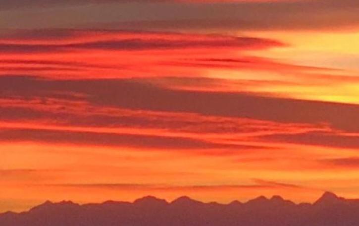Caldo da record e tramonti da urlo