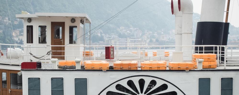 Como: il Patria torna a navigare  «Un bene per tutto il lago»