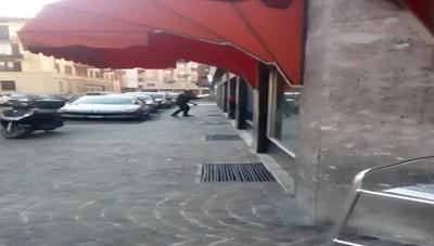 Violenza in via Anzani