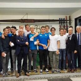 Canottieri Lario in passerella  Premiati i (tanti) medagliati