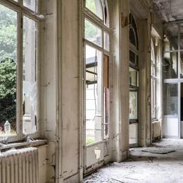 Como, l'ex sanatorio   albergo dei senzatetto