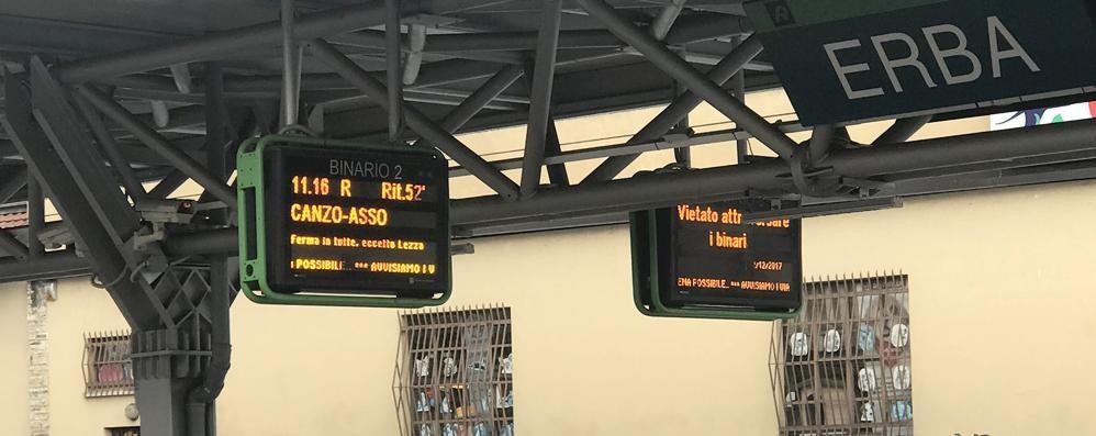Milano-Asso, i ritardi da record dei treni  Ottavo mese consecutivo con lo sconto