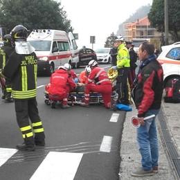 San Siro, auto ribaltata sulla Regina  Ferito il conducente di 63 anni
