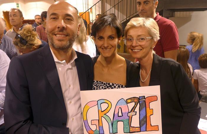 Matteo Ferrari con Chiara Paganelli e Laura Mainetti
