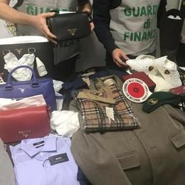 Capi griffati dalla Svizzera alla Cina  A Cadorago la base del contrabbando