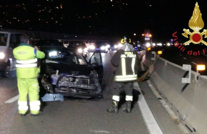 L'incidente sull'A9